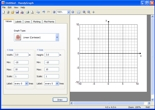 Screenshot of HandyGraph graphing software showing Cartesian grid